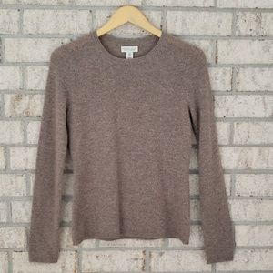 Andienne Vittadini 100% 2-Ply Cashmere Sweater